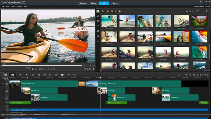 Software Edit Video PC Terbaik Terpopuler - Corel VideoStudio Ultimate X10