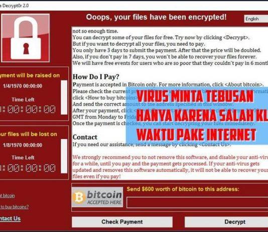 Apa Itu Virus Ransomware WannaCry