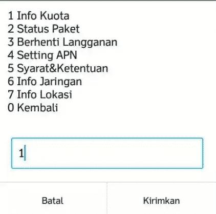Cara Unreg Paket Indosat Oreedo Di HP