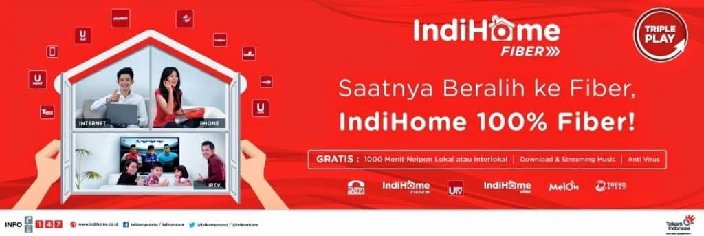 TERBARU&Promo] Harga Paket Indihome Fiber &Speedy 2017