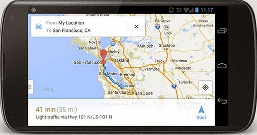 """Cara melacak android dengan """"Google Maps"""""""