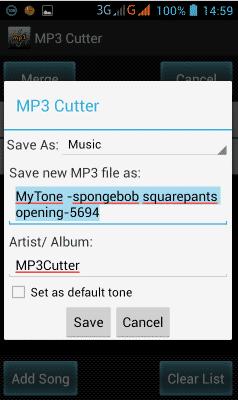 Cara Menggabungkan Lagu Dengan Mp3 Cutter 3