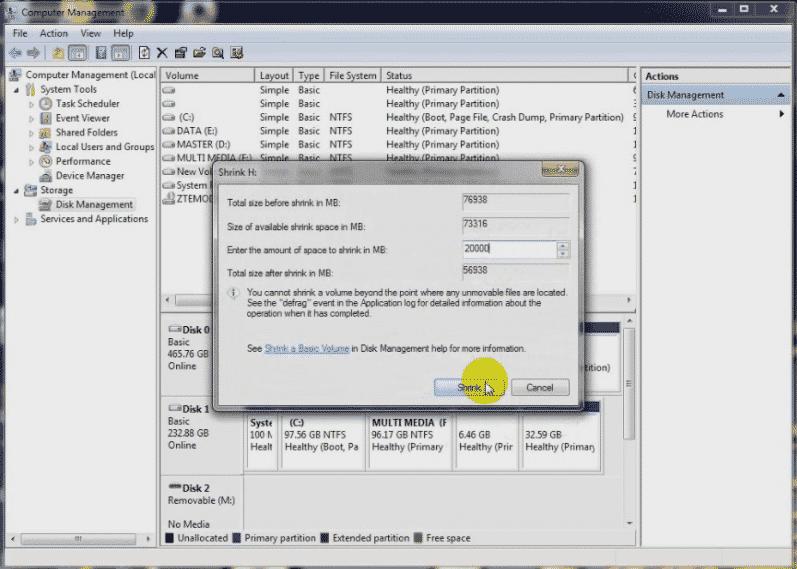 Cara Partisi Hardisk Windows 7 Tanpa Install Ulang