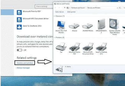 Sharing printer pada windows 10