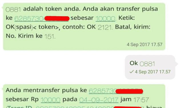 biaya transfer indosat