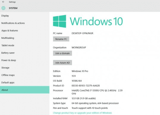 Cara Melihat Spesifikasi Laptop di Windows 10
