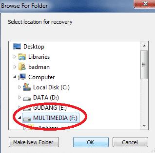 Cara Mengembalikan File Dengan Recuva