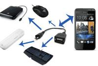 Cara Menggunakan USB OTG di Smartphone dan Tablet Android