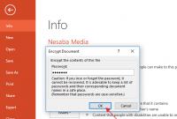 Cara Proteksi File PowerPoint dengan Password
