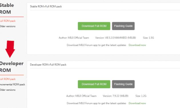 Cara Update Xiaomi dari Miui 8 ke Miui 9 Tanpa UBL