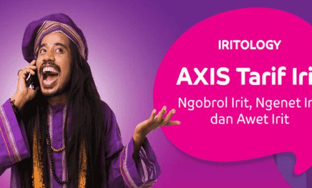 Daftar Paket Internet AXIS 4G Lengkap 2017