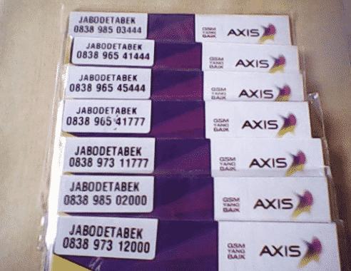 [Mudah] Cara Mengecek Nomor Axis Sendiri  NGELAG.com