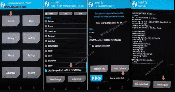 Cara Root Asus Zenfone Max ZC550KL